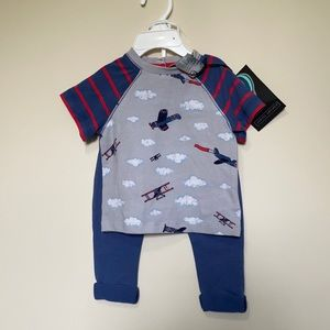 Jarvis Archer 2pc 3-6 month outfit